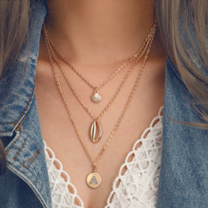 Necklace Fashion multilyer  jewelry